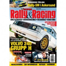 Bilsport Rally & Racing nr 7 2018