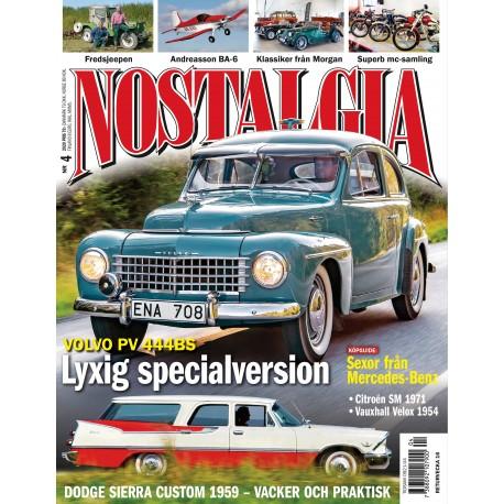 Prenumerera på Nostalgia Magazine