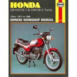 Honda CB/CD125T & CM125C Twins 1977 - 1988