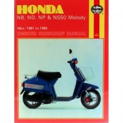 Honda NB ND NP & NS50 Melody 1981 - 1985