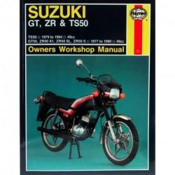 Suzuki GT ZR & TS50 1977 - 1990
