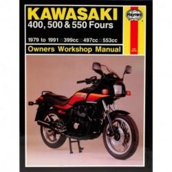 Kawasaki 400 500 & 550 Fours 1979 - 1991