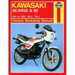 Kawasaki AE/AR 50 and 80 1981 - 1995