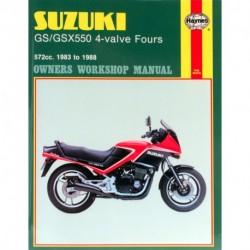 Suzuki GS/GSX550 4-valve Fours 1983 - 1988