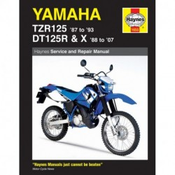 Yamaha TZR125 1987 - 1993) and DT125R/X 1988 - 2007