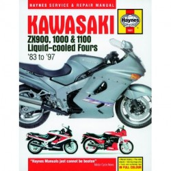 Kawasaki ZX900 1000 & 1100 Liquid-cooled Fours 1983 - 1997
