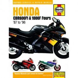 Honda CBR600F1 and 1000F Fours 1987 - 1996