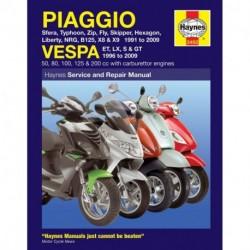 Piaggio (Vespa) Scooters 1991 - 2009