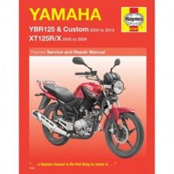 Yamaha YBR125 & XT125R/X 2005 - 2013