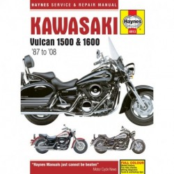 Kawasaki Vulcan 1500 & 1600 1987-2008