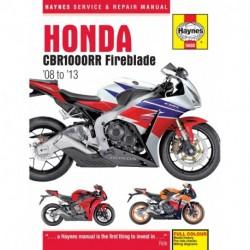 Honda CBR1000RR Fireblade 2008 to 2013