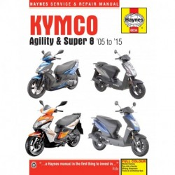 Kymco Agility & Super 8 Scooters (05 - 15)