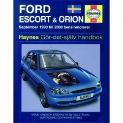 Ford Escort & Orion 1990 - 2000
