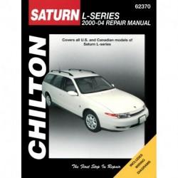 Saturn L-Series Chilton Repair Manual covering all models for 2000-04