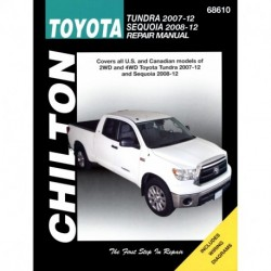 Toyota Tundra (2007-12) and Sequoia (2008-12) Chilton Repair Manual covering all models