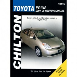 Toyota Prius Chilton Repair Manual covering all models for 2001-08