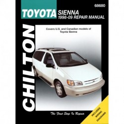 Toyota Sienna Chilton Repair Manual for 1998-09 (Does not include information specific to all-wheel drive models)