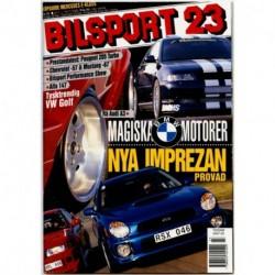 Bilsport nr 23  2000