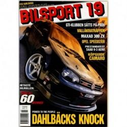 Bilsport nr 19  2000