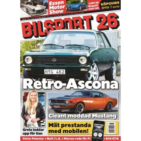 Bilsport nr 26 2009