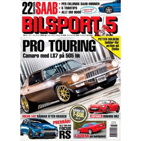 Bilsport nr 5 2015