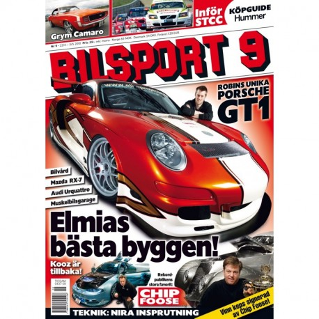 Bilsport nr 9 2010