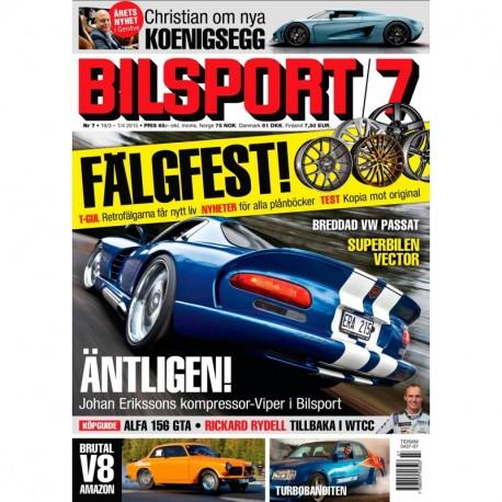 Bilsport nr 7 2015
