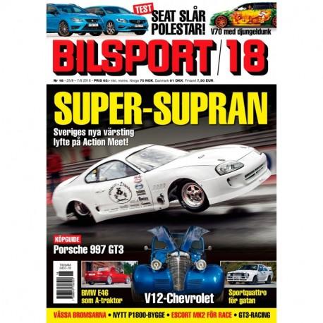 Bilsport nr 18 2016