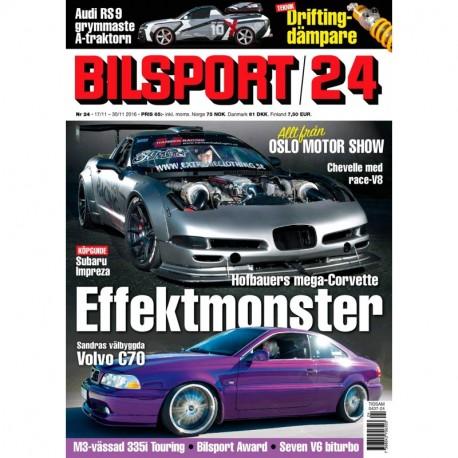 Bilsport nr 24 2016