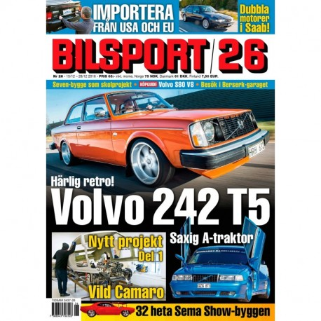 Bilsport nr 26 2016