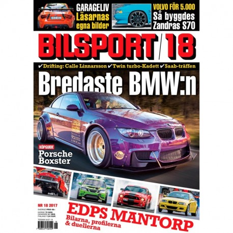 Bilsport nr 18 2017