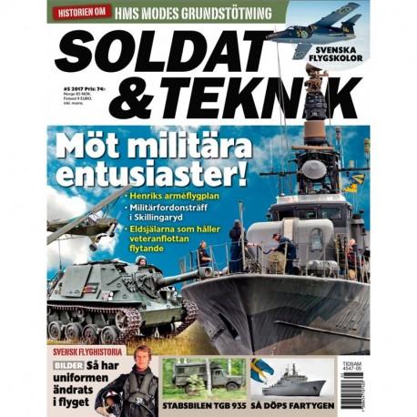 Soldat & Teknik nr 5 2017