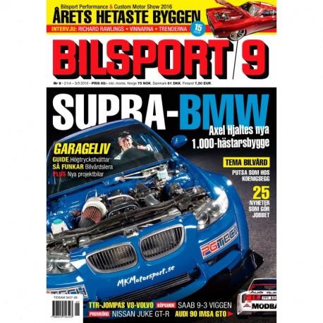 Bilsport nr 9 2016