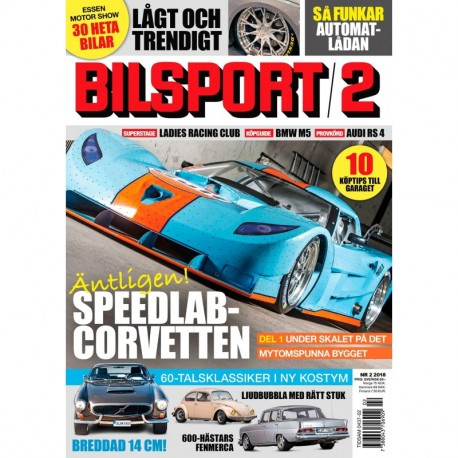 Bilsport nr 2 2018